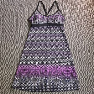 Athleta Shorebreak Swim Dress Bombay Purple XS